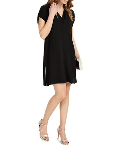 Phase Eight Vivian Tunic Dress-BLACK-UK 12/US 8