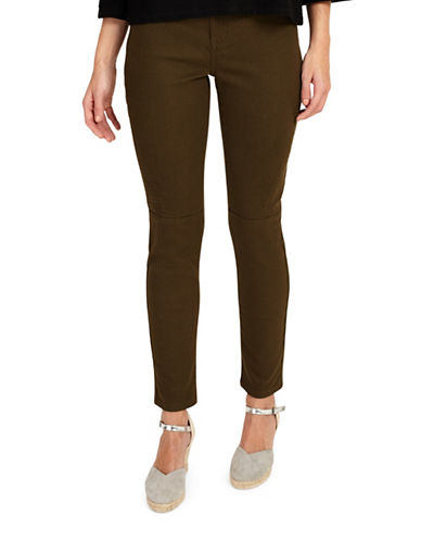 Phase Eight Victoria Seamed Jeans-KHAKI-UK 8/US 4