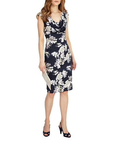 Phase Eight Printed Blossom Jersey Dress-MUTLI-UK 10/US 6