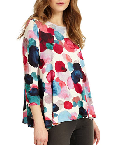 Phase Eight Artists Palette Spot Blouse-MUTLI-UK 10/US 6