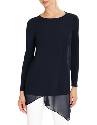 Phase Eight Vinny Long Sleeve Tunic-NAVY-UK 18/US 14