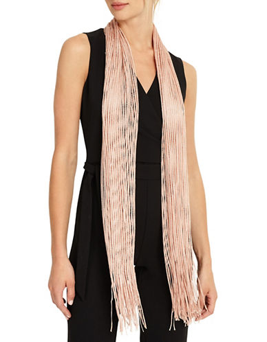 Phase Eight Mira Shimmer Scarf-PINK-One Size