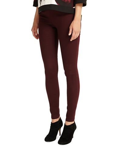 Phase Eight Amina Darted Jeggings-BRICK-UK 14/US 10