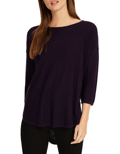 Phase Eight Megg Wool-Blend Sweater-PURPLE-0