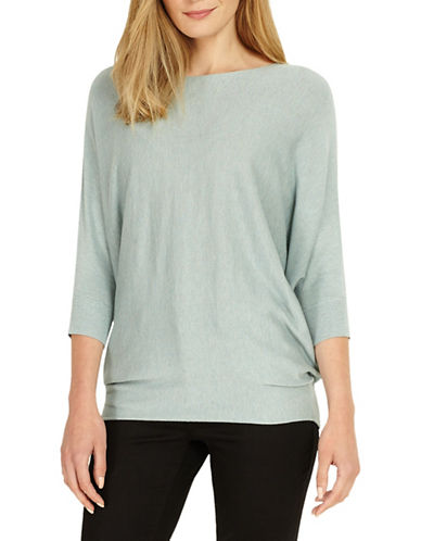 Phase Eight Becca Wool-Blend Sweater-GREEN-4