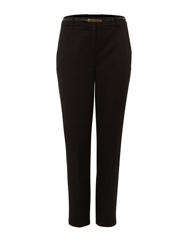 Phase Eight Alice Jacquard Trousers-BLACK-UK 18/US 14