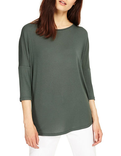 Phase Eight Catrina Drop-Shoulder Top-GREEN-UK 16/US 12