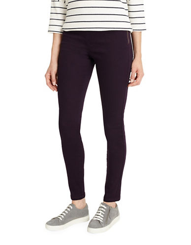 Phase Eight Amina Darted Jeggings-BROWN-UK 18/US 14