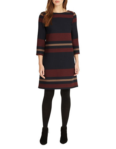 Phase Eight Sophie A-Line Dress-MULTI-UK 14/US 10
