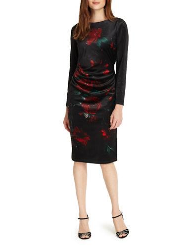 Phase Eight Wilhelmina Shift Dress-PORT-UK 18/US 14