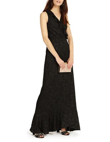 Phase Eight Neona Floor-Length Dress-BLACK-UK 12/US 8