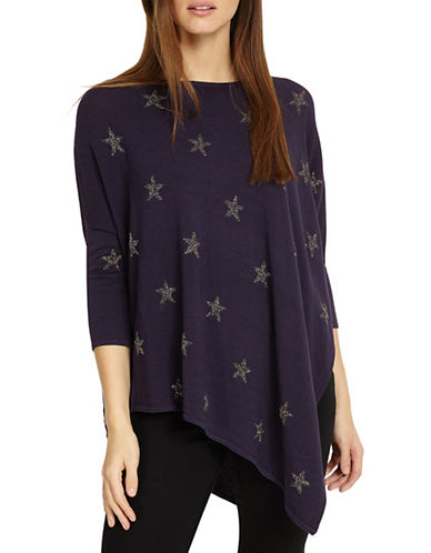 Phase Eight Sachi Star Jumper-NAVY-3