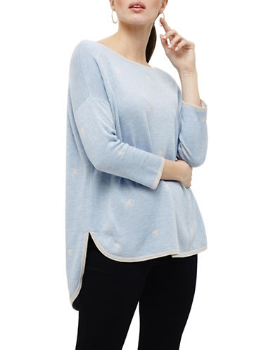 Phase Eight Megg Wool-Blend Jumper-BLUE-2