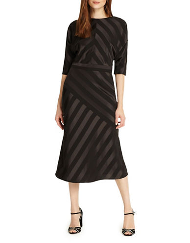 Phase Eight Avaline Sheath Dress-BLACK MULTI-UK 16/US 12