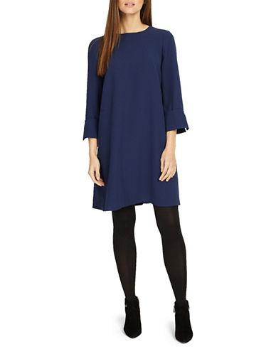 Phase Eight Bettina Swing Dress-NAVY-UK 18/US 14