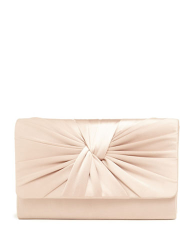 Phase Eight Gemma Twist Front Convertible Clutch-NATURAL-One Size