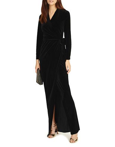 Phase Eight Valeria Velvet Gown-BLACK-UK 16/US 12