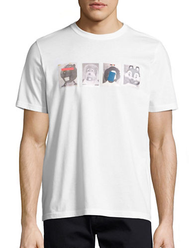 Ps By Paul Smith Mascot Graphic T-Shirt-WHITE-Large 88983164_WHITE_Large