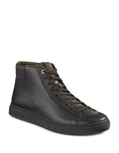Ps By Paul Smith Shima High Top Sneakers-BLACK-8