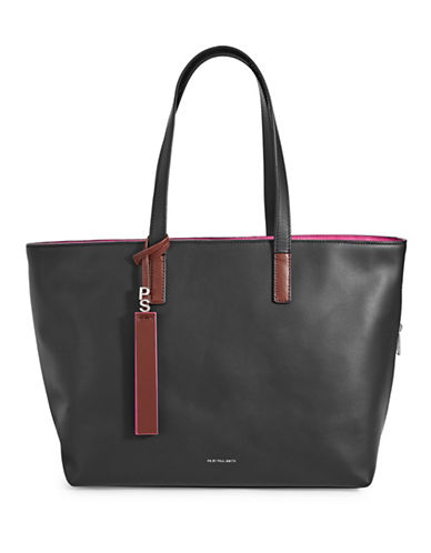 Paul Smith Colour Tip Tote Bag-BLACK-One Size