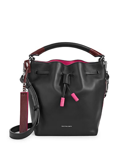 Paul Smith Mini Bucket Bag-BLACK-One Size