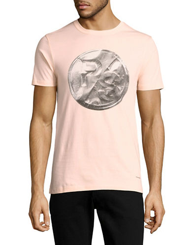 Ps By Paul Smith Slim Fit Medallion Logo T-Shirt-PINK-X-Large 89051654_PINK_X-Large