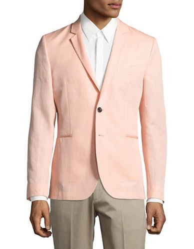 Ps By Paul Smith Deconstructed Slim Fit Blazer-PINK-42