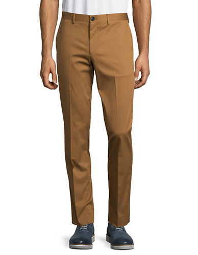 Ps By Paul Smith Mid Fit Trousers-TAN-38