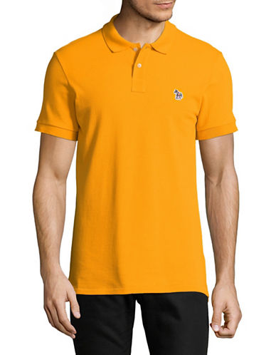 Ps By Paul Smith Zebra Slim-Fit Polo-YELLOW-X-Large