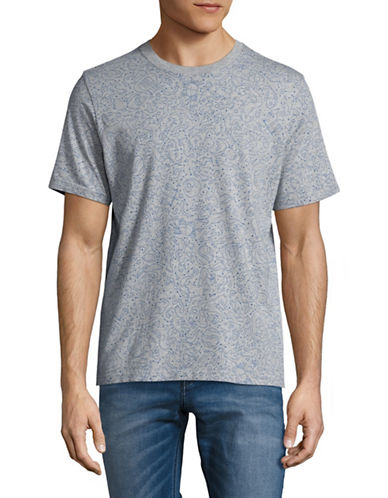 Ps By Paul Smith Zodiac T-Shirt-GREY-Medium