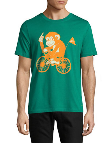 Ps By Paul Smith Monkey T-Shirt-GREEN-Medium 89286027_GREEN_Medium