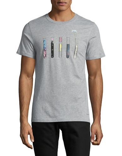 Ps By Paul Smith Test Tubes Slim-Fit T-Shirt-GREY-Large