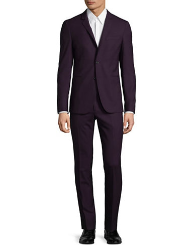 Ps By Paul Smith Slim-Fit Wool Suit-RED-44