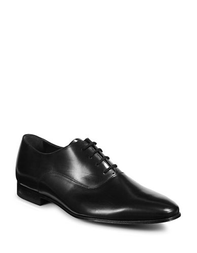 Paul Smith Fleming Leather Shoes-BLACK-9.5