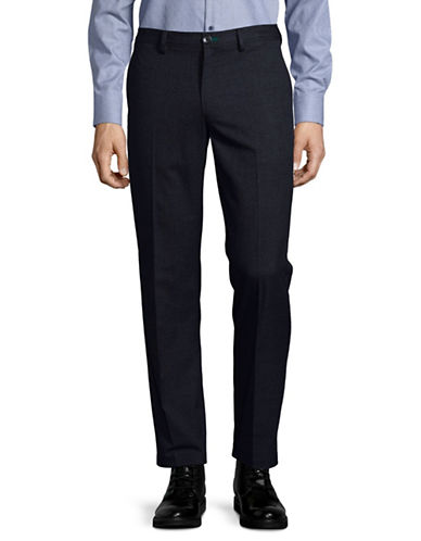 Ps By Paul Smith Mid Fit Pants-NAVY-32X32