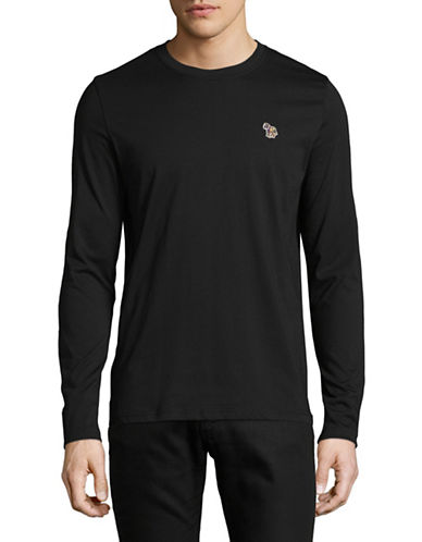 Ps By Paul Smith Long Sleeve Cotton T-Shirt-DARK GREY-X-Large