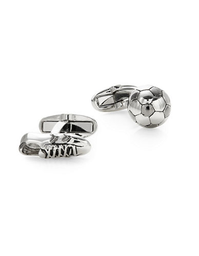 Paul Smith Football Cufflinks-SILVER-One Size