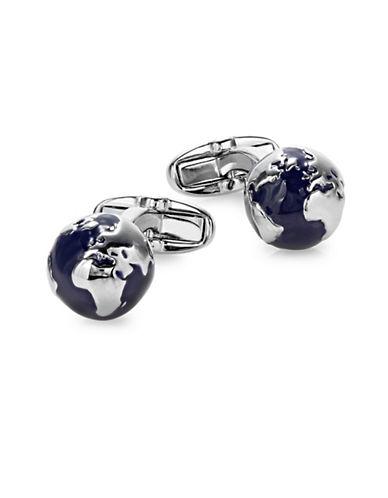 Paul Smith Globe Cufflinks-SILVER-One Size