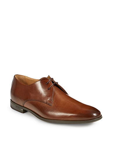 Paul Smith Coney Leather Dress Shoes-TAN BROWN-7.5