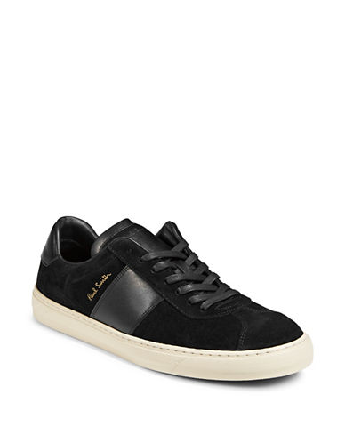 Paul Smith Levon Leather Sneakers-BLACK-9.5