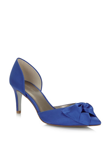 Jacques Vert Pointed Riviera Pumps-BLUE-10.5