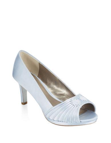 Jacques Vert Woven Detail Shoes-LIGHT BLUE-6.5