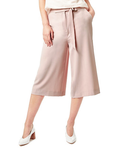 Eastex Belted Culottes-PINK-UK 16/US 14