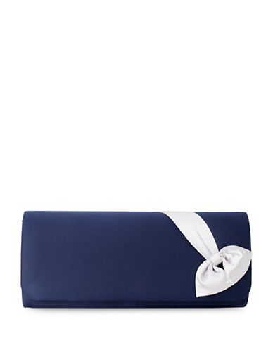 Jacques Vert Bow Clutch-MULTI NAVY-One Size