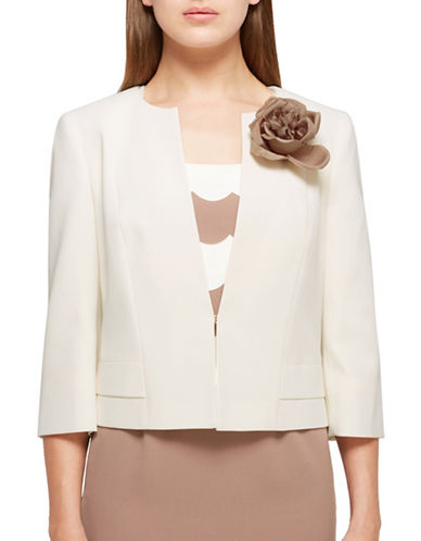 Jacques Vert Sophia Jacket-IVORY-UK 14/US 12