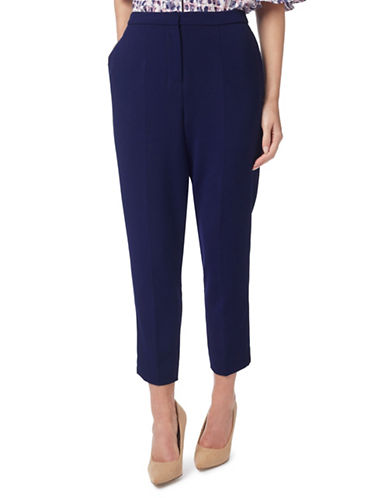 Eastex Double Cloth Trousers-NAVY-UK 14/US 12