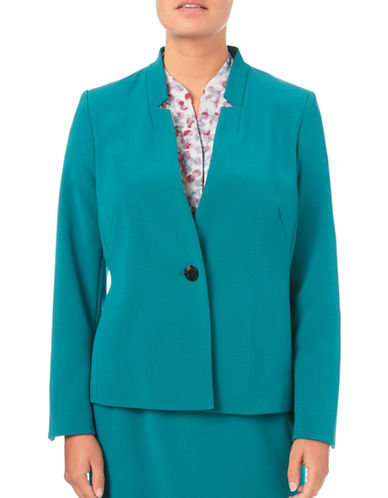 Eastex Double Cloth Notch Jacket-GREEN-UK 10/US 8