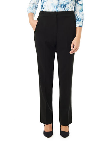 Eastex Double-Cloth Trousers-BLACK-UK 14/US 12