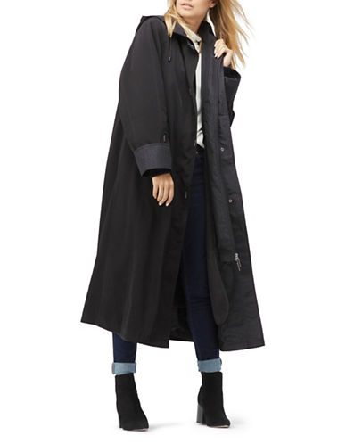 Jacques Vert Long Length Mac Coat-BLACK-Large 89412799_BLACK_Large