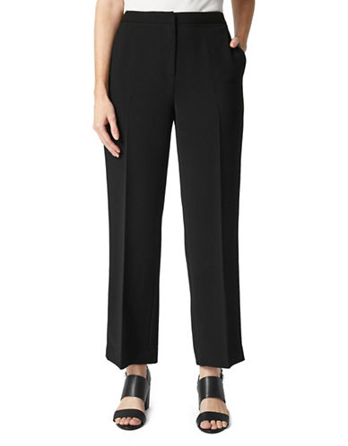 Precis Petite Petite Thea Wide-Leg Trouser-BLACK-UK 14/US 12